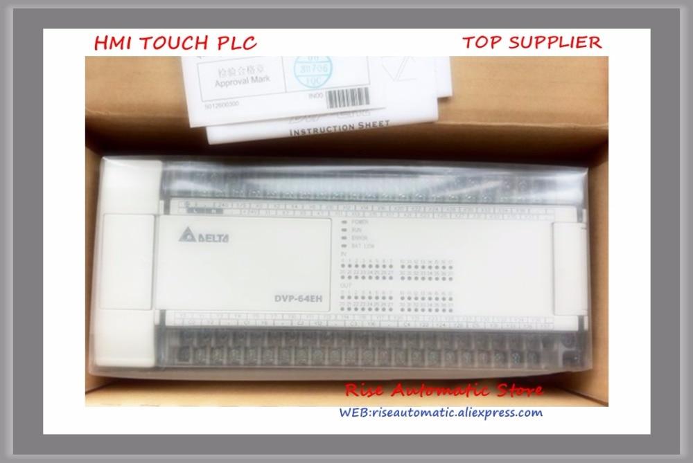 New Original PLC DVP64EH00R2 64-point 32DI/32DO sortie relais AC puissance