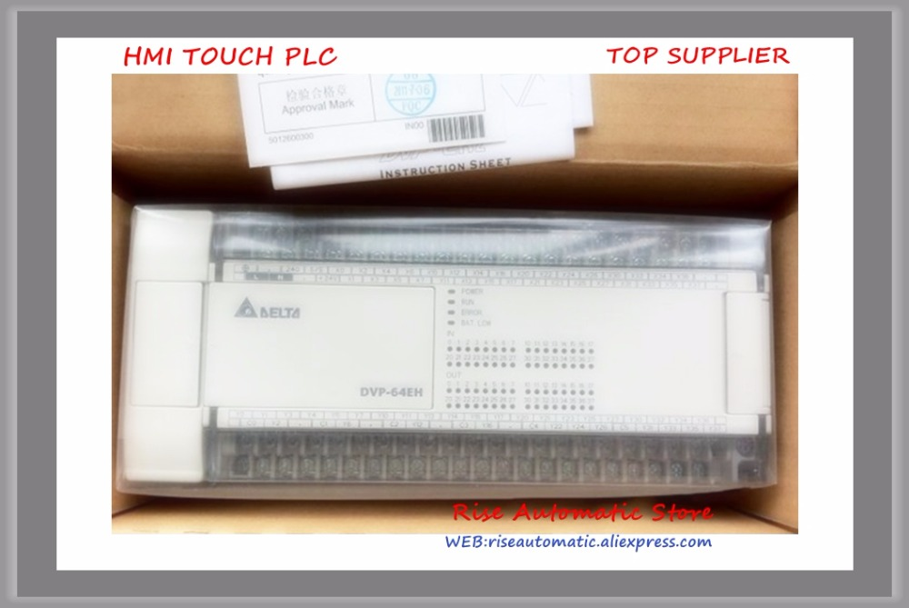Nuovo Originale PLC DVP64EH00R2 64-point 32DI/32DO uscita a relè di CORRENTE ALTERNATA