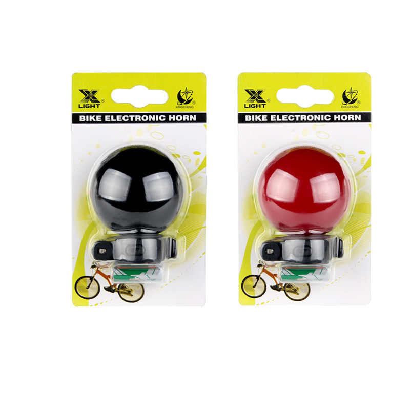Мини-аккумулятор, электрический велосипедный звонок, MTB, горный, дорожный велосипед, звонок, сигнализация, черный, красный, аксессуары для велоспорта, велосипедный Звонок