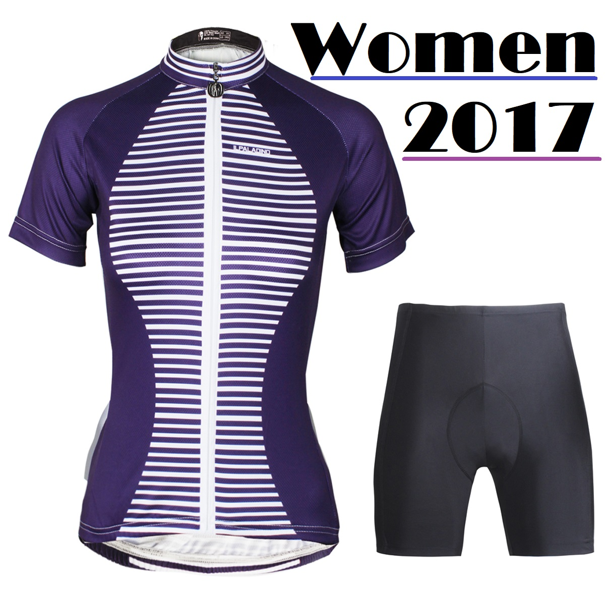 Women's Sports Jerseys Summer Cycling Sportwear Racing Jersey Female Bicycle Clothing Free Shipping ILPALADINO QI17DT755 176 hot cycling jerseys magnolia flowers hot cycling jersey 2017s anti pilling female adequate quality sleeve cycling clothing f