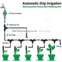 5 - 20 м автоматическая система капельного орошения балкон парниковых полив наборы беспилотные операция ирригатор