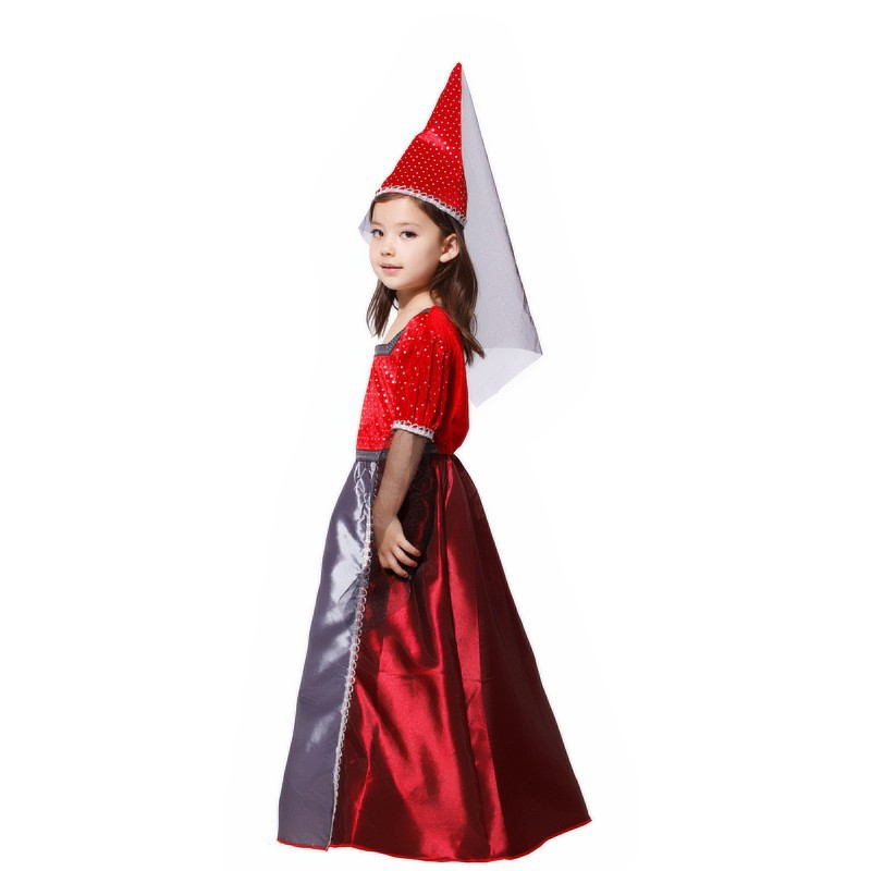 New Girls Red Goth Medieval princess Renaissance Juliet Child Halloween Fancy dress up Witch Princess costume-in Girls Costumes from Novelty u0026 Special Use ...  sc 1 st  AliExpress.com & New Girls Red Goth Medieval princess Renaissance Juliet Child ...