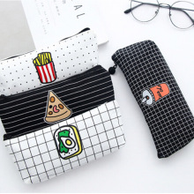 US $0.76 24% OFF|Lovely Food Pizza Fries Canvas Pencil Case Kawaii Stationery Storage Organizer For Students Stationery School Writing Supplies  -in Pencil Bags from Office & School Supplies on Aliexpress.com | Alibaba Group