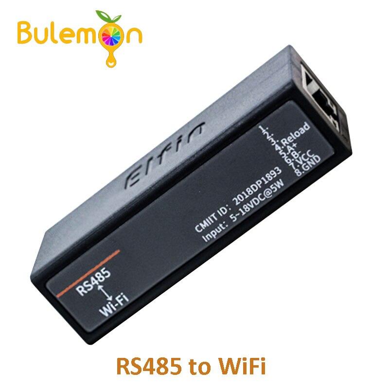 Porta serial rs485 para wifi dispositivo servidor módulo Elfin-EW11 suporte tcp/ip telnet modbus tcp protocolo transferência de dados através de wifi
