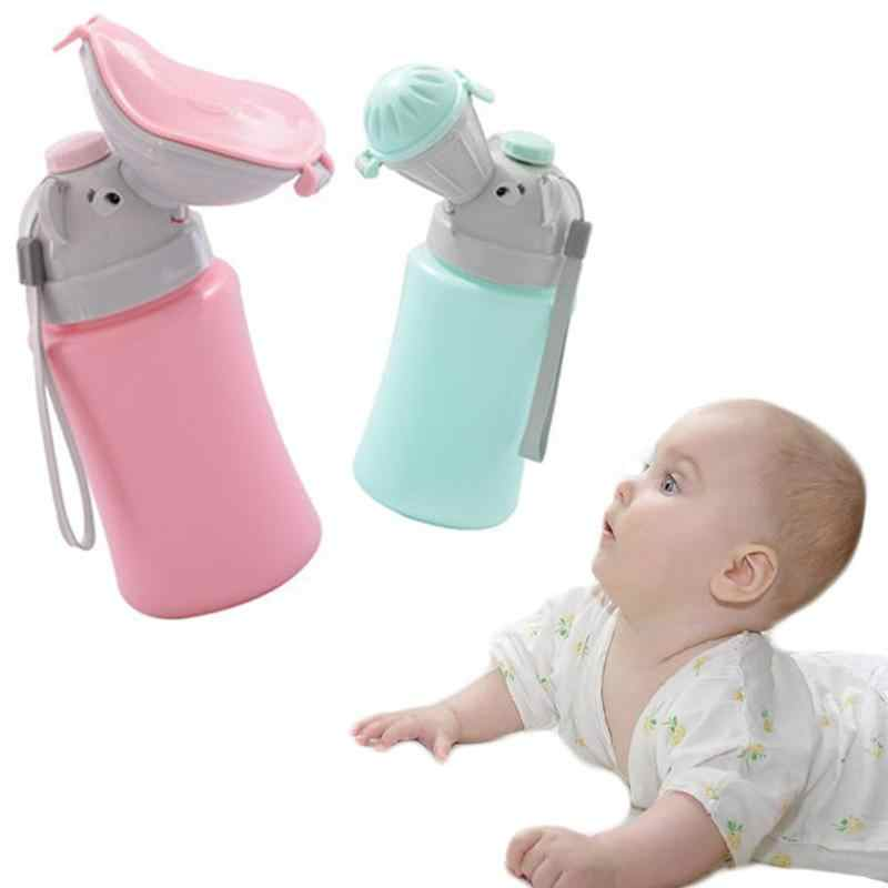 2019 New Portable Convenient Travel Cute Baby Urinal Kids Potty Girl Boy Car Toilet Potties Vehicular Urinal Traveling Urination