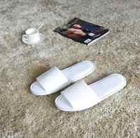 10 คู่/ล็อตคุณภาพสูงสีขาว Terry เปิดนิ้วเท้ารองเท้าแตะสปาต่อสำหรับผู้ใหญ่ผู้หญิงผู้ชายบ้านเกสต์รองเท้าแตะ 29*11.5 เซนติเมตรขายส่ง