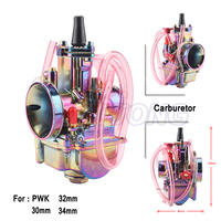 28 30 32 34mm Motorcycle PWK Carburetor Carburador Carb for 110cc 250cc 2T 4T two stroke Engine Scooter Dirt Pit Bike colorful