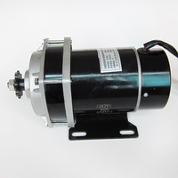 Brush Motor 24V 450W MY1020ZXFH Decelerating Motor with Fan for Electric Tricycle Scooter Unite Motor|Scooter Parts & Accessories|   -