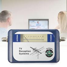 Mini Digital Satellite Signal Finder TV Antenna SF-95DTL SAT Finder DVB-T 95DT TV Signal Searcher Meter with Compass