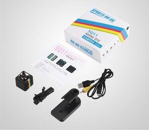 Image 5 - SQ11 HD petite mini caméra cam 1080P capteur vidéo Vision nocturne caméscope Micro caméras DVR DV enregistreur de mouvement caméscope SQ 11 dvr