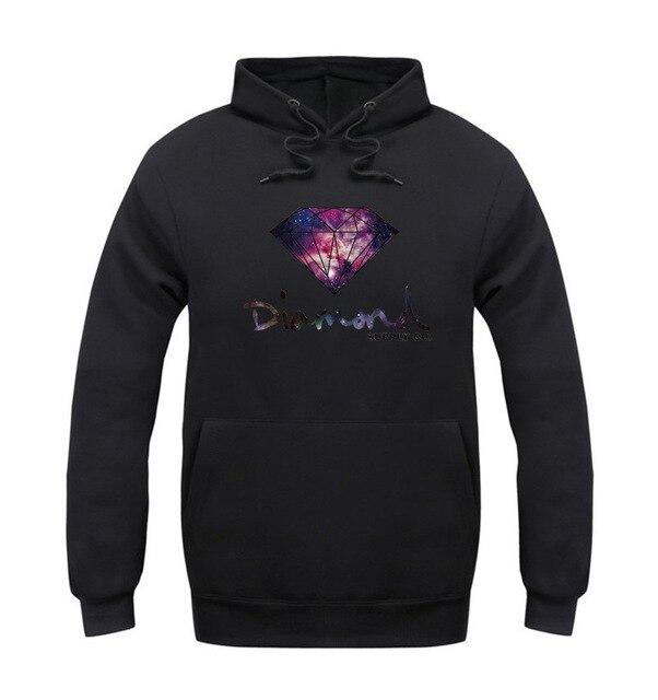 Алмазные supply co мужчины толстовка женщины улица бренд флис теплый толстовка зима осенняя мода хип-хоп примитивные пуловер