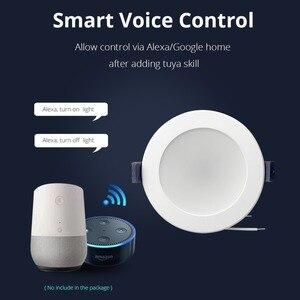 Image 2 - חכם Downlight LED RGBW APP בקרת קול שליטה על ידי גוגל עוזר/Alexa הד/IFTTT/אפליקציה 3.5 אינץ 10 W