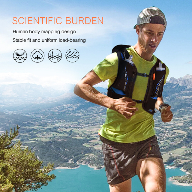 AONIJIE 18L Lightweight Trail Running Hydration Backpack 5