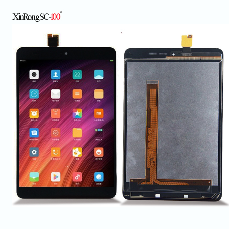 New 7.9 inch For Xiaomi Mi Pad 2 Mipad 2 MIUI LCD Display + Touch Screen Digitizer Glass Full Assembly Tablet PC Replacement new 9 6 inch tablet pc lcd display bg096bl 1288ii81ia jyh lcd screen digitizer sensor replacement