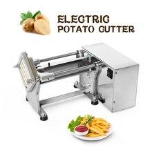 ITOP электрическая фреза для картофеля коммерческая машина для резки картофеля из нержавеющей стали для измельчения овощей фруктов ломтерезка