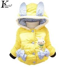 2017 Hiver Bébé Filles Vêtements de Bande Dessinée À Capuche Filles Manteaux Veste Enfants Vêtements Survêtement Manteau Vestes Pour Les Filles Enfants Vêtements