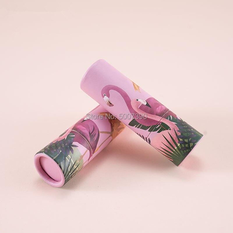 10/30/50pcs 12.1mm vide Kraft papier Rouge à lèvres Tube baume à lèvres conteneurs, rond cosmétique beauté lèvres Rouge bouteille rechargeable