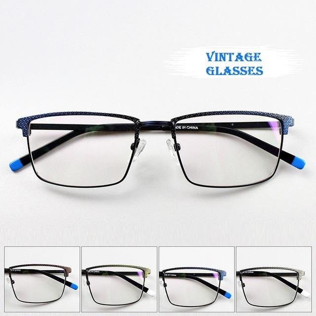 2017 Tendência Óculos de Armações para Os Alunos Dos Homens Das Mulheres Do Vintage