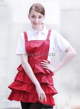 Cute Princess style Household kitchen cooking apron fashion Hairdressing Nail Apron