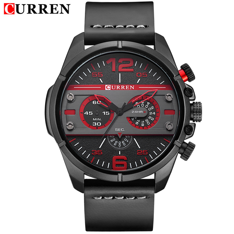CURREN New Men Watches Luxury Brand Sports Wristwatch Army Military Quartz Male Clock Relogio Masculino Montre Homme