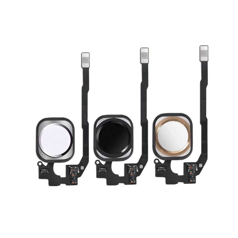 العلامة التجارية الجديدة آيفون 5G 5s 5C 6 Plus 6S Plus 7 Plus زر المنزل مع الكابلات المرنة الرئيسية الرئيسية الرئيسية القائمة التجمع لا معرف اللمس