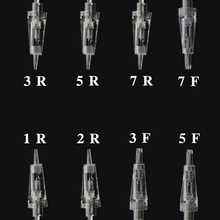 8PCS Electric Derma Pen Needles Bayonet /Spiral Nano MYM Cartridge For Auto Microneedle Derma Pen Tattoo Needle Tip