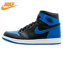 Nike Air Jordan 1 OG ROYAL AJ1 Joe First Year Blue and Black Men's Basketball Shoes, Outdoor Comfort Shoes 2555088 007