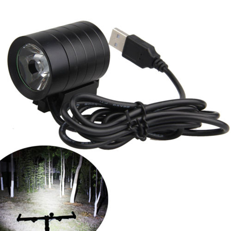 Hot Selling Waterproof IP65 5000LM XM-L L2 T6 USB LED Headlamp Headlight Bicycle Bike Light 4 Mode IP65