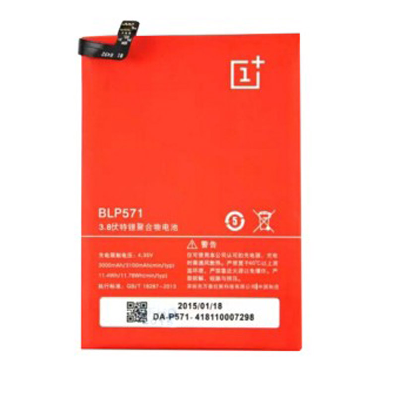 High Quality BLP571 Battery For Oneplus One 64GB 16GB Mobile Phone Replacement Batteries Bateria Batterij Free Shipping 3000mAh