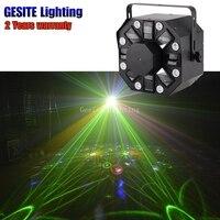 Лазерные Строб светодиодный Цветок 3in1 диско лазерной звезды вспышки света этапа