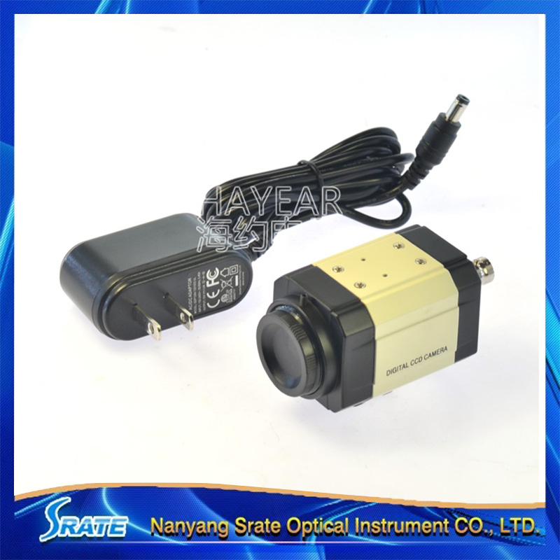 HD AV/BNC C Mounting Electronic Digital Microscope Eyepiece CCD 800 Lines Industrial Camera hd ccd 800 lines c mount digital microscope eyepiece av bnc out put industrial camera with 100x zoom lens