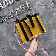 купить Handbag Female 2019 Spring New Small Square Bag Korean Version Of The Matte Solid Color Polyester Shoulder Diagonal Package по цене 925.29 рублей