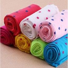 Дизайн, колготки для девочек, милые Непрозрачный бархатный чулки для детей, Колготки с принтом для девочек, 1 шт