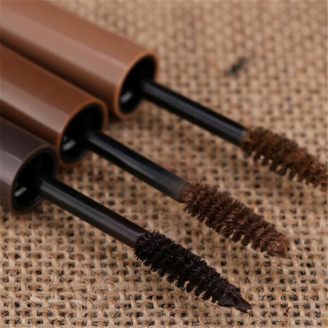 3 Colors Long Lasting Waterproof Eyebrow Mascara Cream Eye Brow Shadow Makeup Beauty Comstic Tools with Brush 2