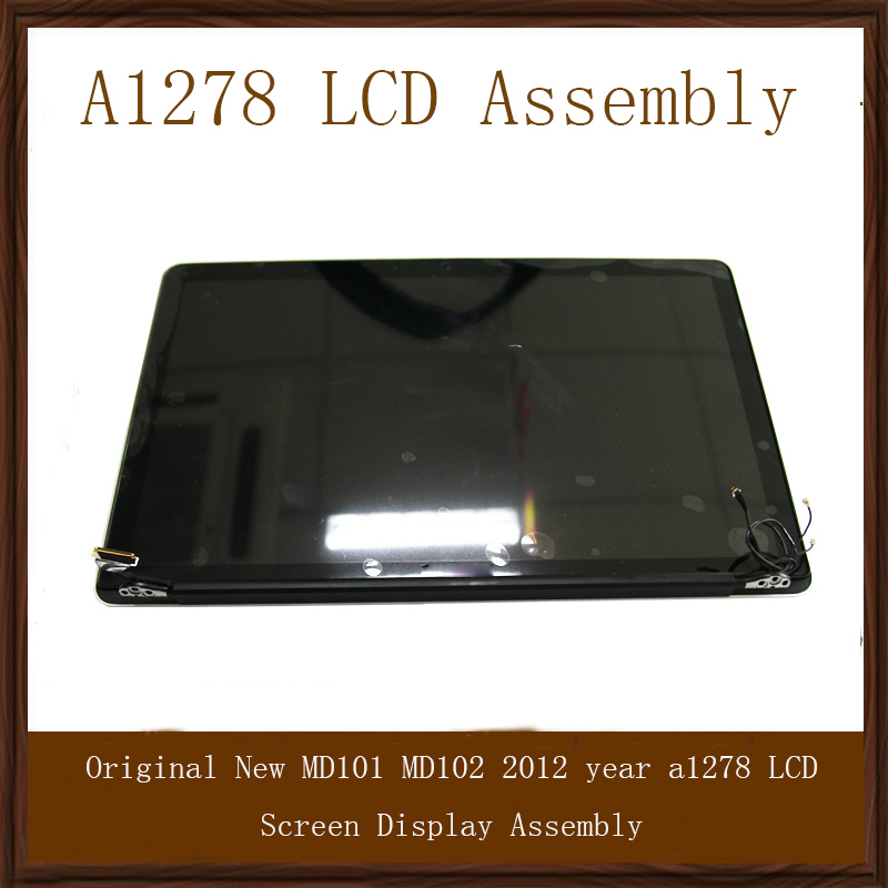 MD101 MD102 Genuine For Apple Macbook Pro 13 A1278 LCD Screen Assembly 2012