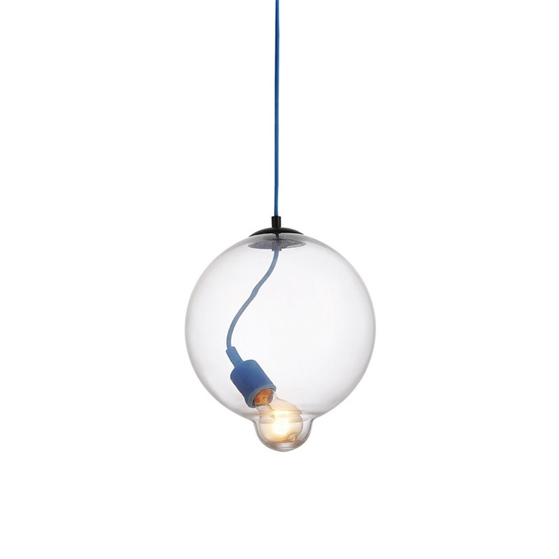 GZMJ Modern Nordic Glass Ball Pendant Light Lamp Clear for Dining Room Bar Restaurant Suspension Hanging Lamp LED Lamparas Light