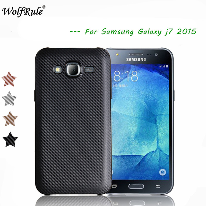 WolfRule sFor Case Samsung Galaxy J7 2015 Cover Luxury Full Protection Soft TPU Case For Samsung J7 2015 Funda J700 J700F Capa-in Fitted Cases ...