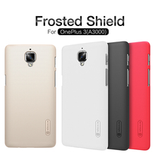 OnePlus 3 Case Nillkin Frosted Shield Hard Armor Back Cover