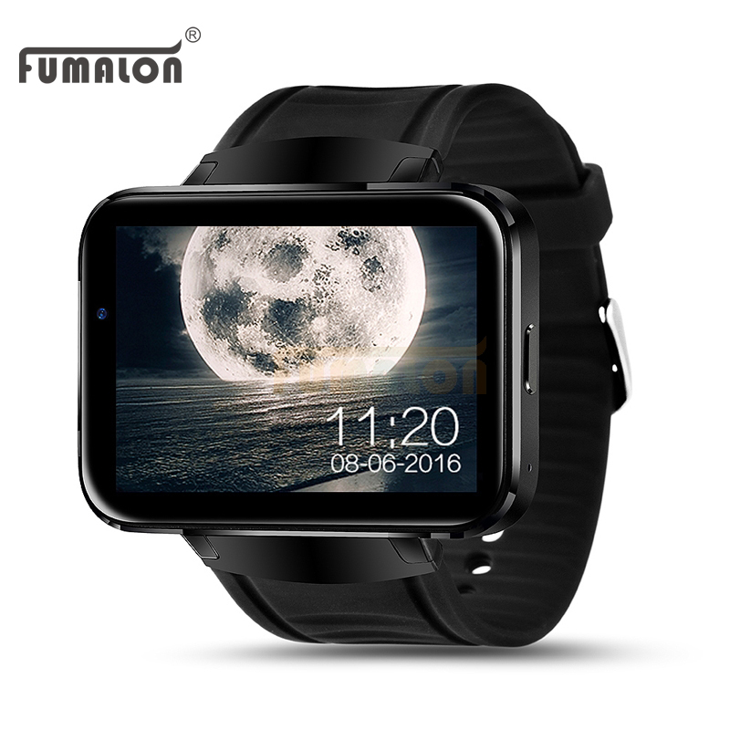 Surprise FUMALON FM98 Android OS Smart Watch Phone Support GPS SIM Card MP3 Bluetooth WIFI font