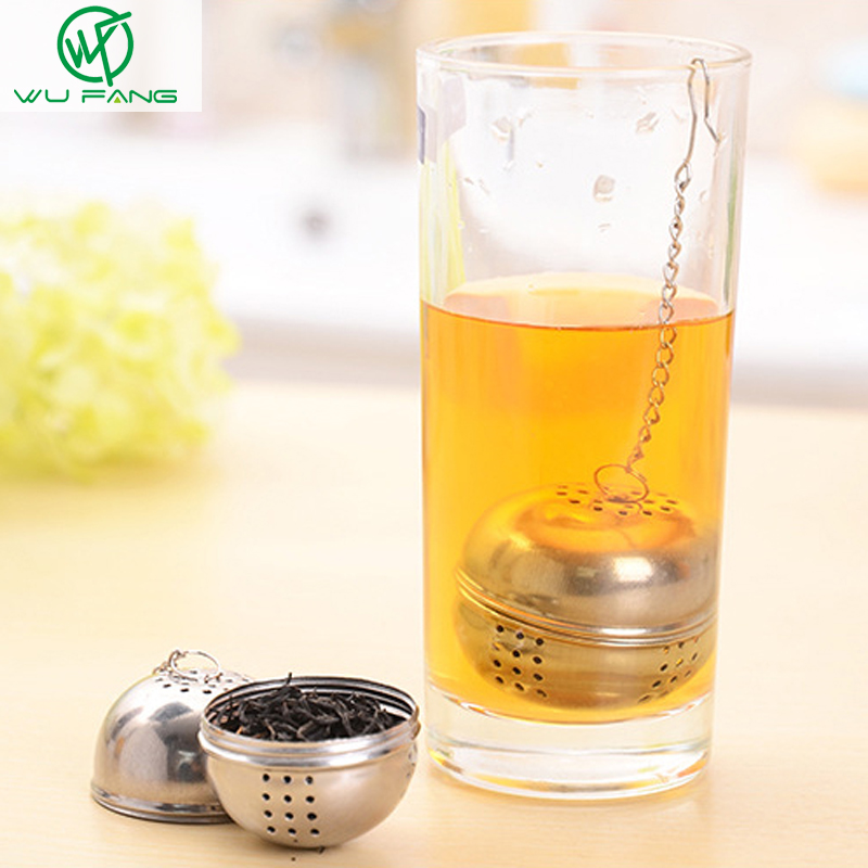 Stainless steel hanging tea strainers seasoning ball hot pot Herbal Spice Infuser Filter Tools type filter tea accessories