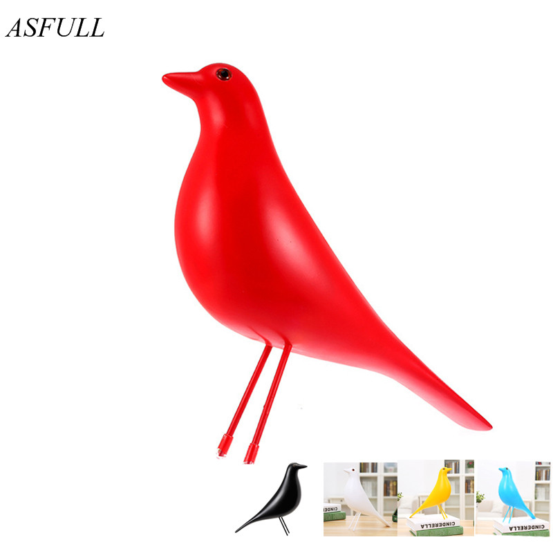 Hotel decorations Resin House Bird house birds Home decoration Furnishings The dove of peace for European mascot Wedding Supplie