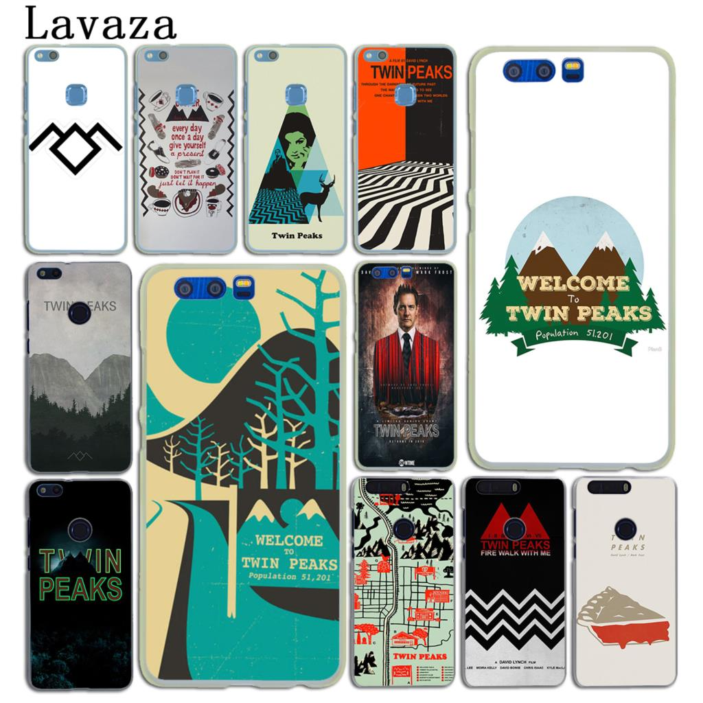 Lavaza Welcome To Twin Peaks Hard Phone Case for Huawei Y5 Y6 Y3 II Y7 2017 2018 Nova 2 Plus 2S 2i Honor 10 8 9 Lite 7 7X Cover