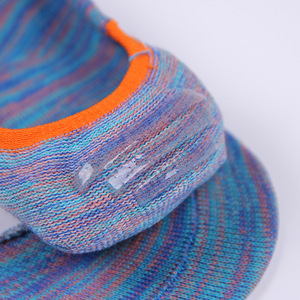 Image 5 - Calcetines invisibles de algodón para mujer, calcetín antideslizante, transpirable, colorido, Primavera, novedad de verano