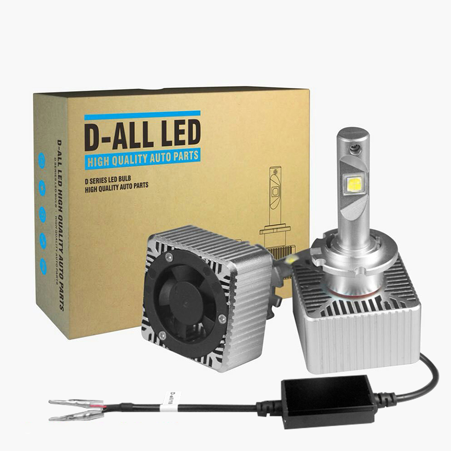 NEW D5S D1S D3S D2S D4S LED Bulb Super Bright D1R D3C Car Headlights 70W 7600Lm Same Size As Original All in One DC 12V 6000K-in Car Headlight Bulbs(LED) from Automobiles & Motorcycles    1