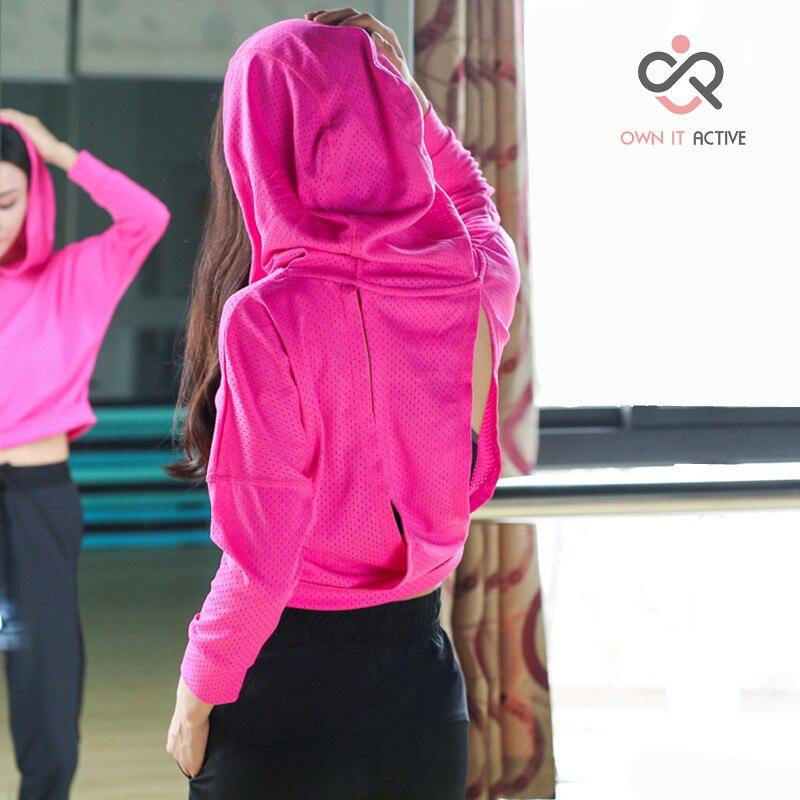 Camisa de Compressão Pretas para Academia e Yoga Fitness Feminina Camisetas Manga Longa P158