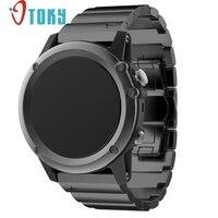 Hot Sale OTOKY Fabulous Metal Stainless Steel Watch Wrist Band Strap For Garmin Fenix 3 HR