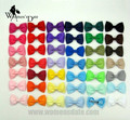 "WomensDate 41pcs Small 2.5"" Girls Kids Baby Boutique Hair Bow Clips Ribbon Bowtie Bows With Alligator Clips Headband Headwear"