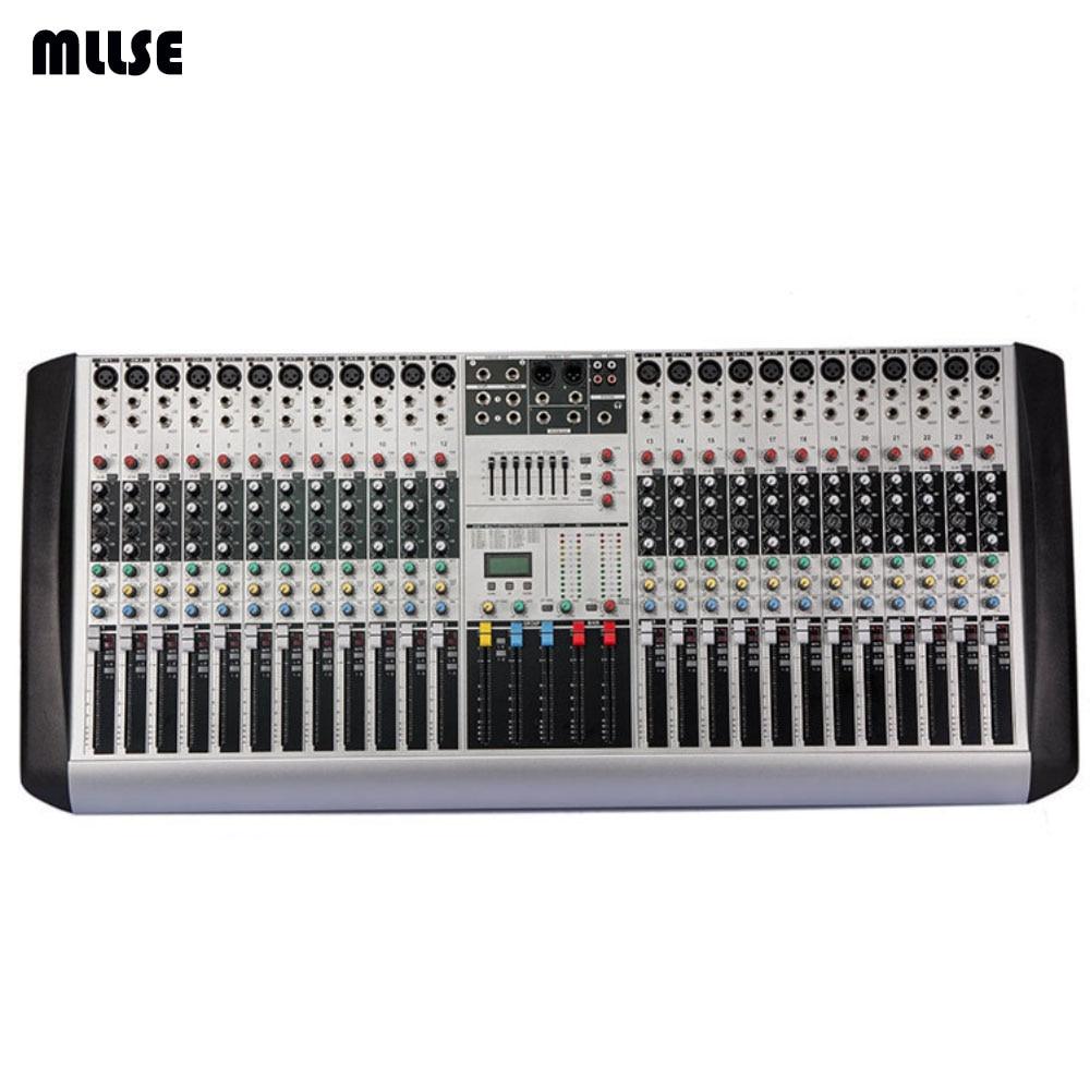 hx2402 new professional audio dj mixer 24 channels eq mixing console mezcladora de dj in karaoke. Black Bedroom Furniture Sets. Home Design Ideas