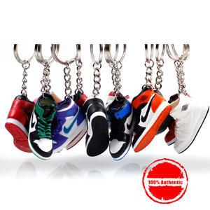 3D Sneaker Keychains Strap Lanyard keys Bag Gift Shoe 0347c77de