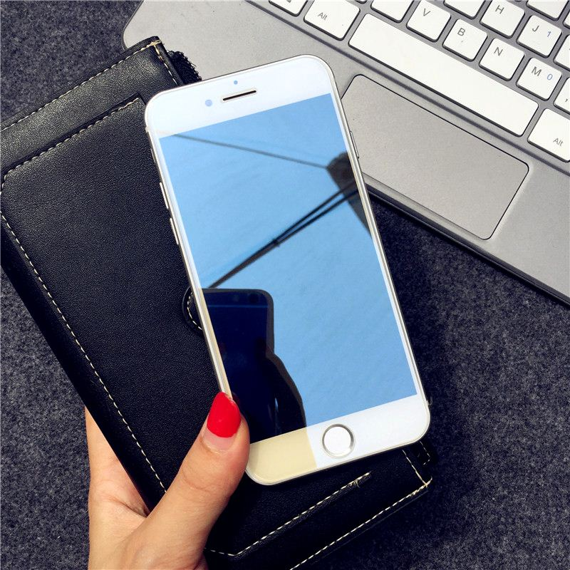 Image 3 - Mirror Tempered Glass For iPhone X XR XS MAX Screen Protector Glass For iPhone 6 6s 7 8 Plus 11 Pro Protective Glass Guard Cover-in Phone Screen Protectors from Cellphones & Telecommunications